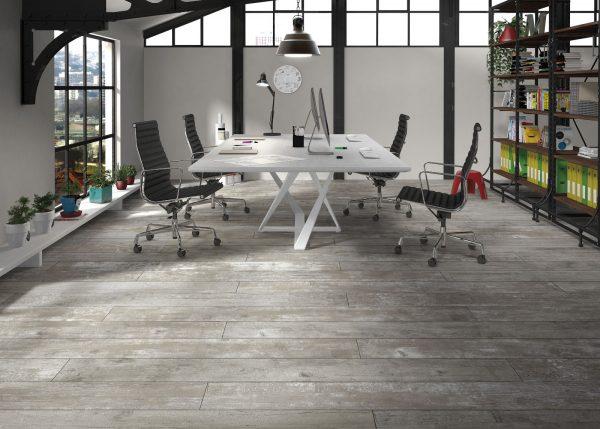Porcelánico Imitación Madera. Pavimento Endor Color Grey
